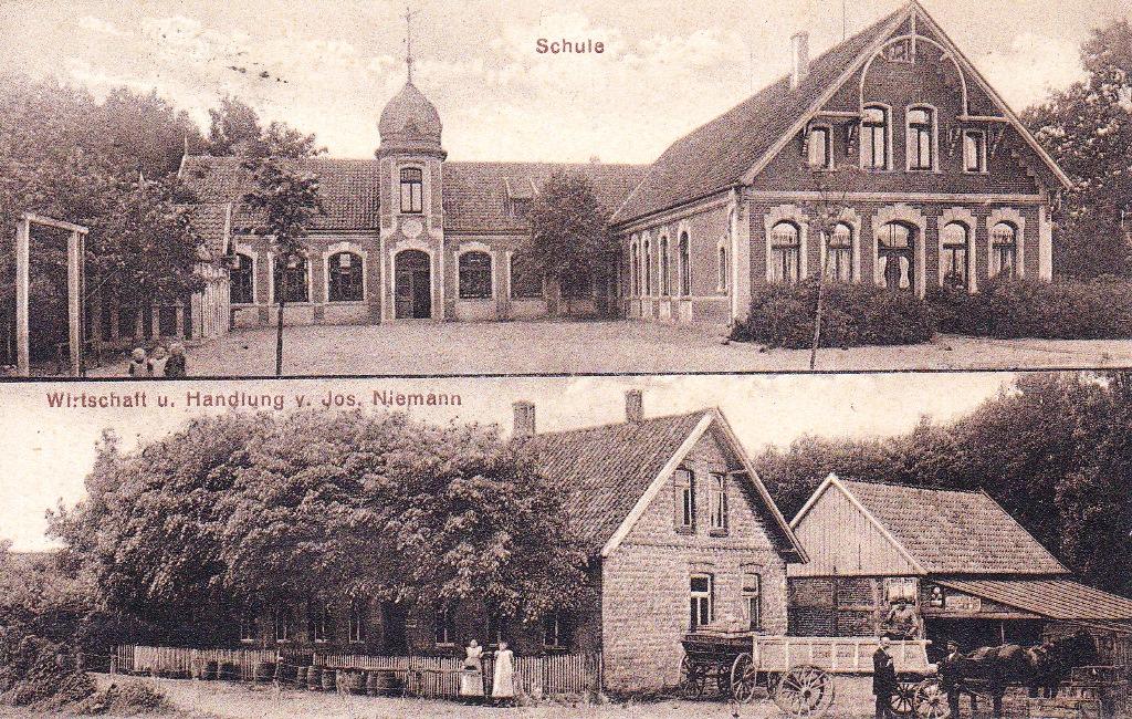 Ansichtskarte um 1918