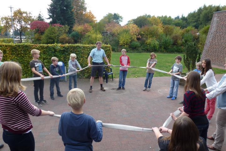 Gemeinsam verbrachten die Messdiener ein Wochenende auf dem Jugendhof
