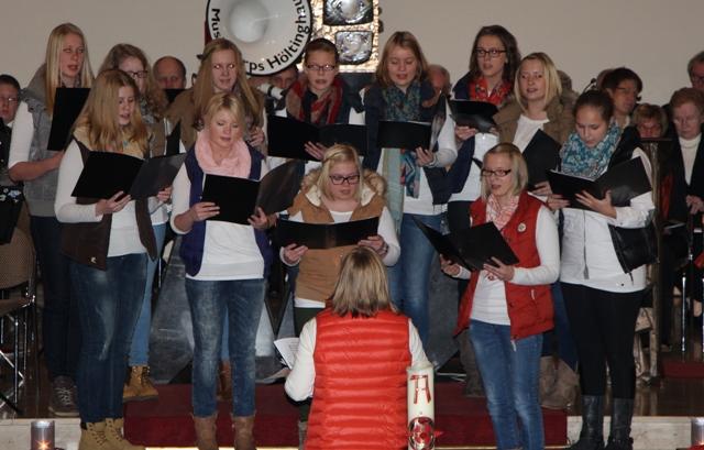 Adentskonzert 2014 Jugendchor