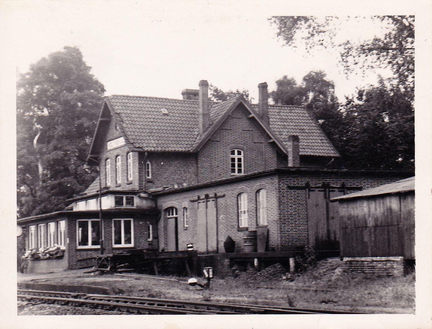 Bahnhof 1950er