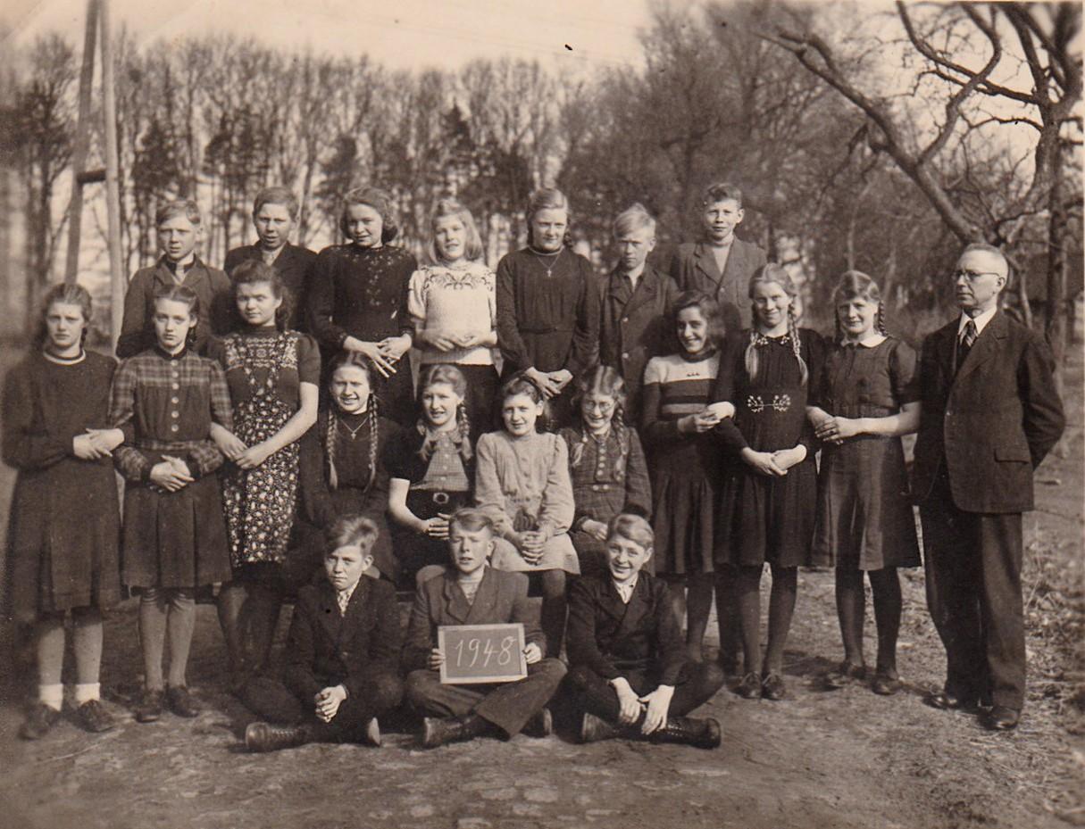 Schulentlassung 1948
