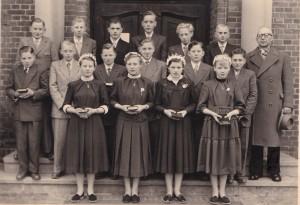 Schulentlassung 1956