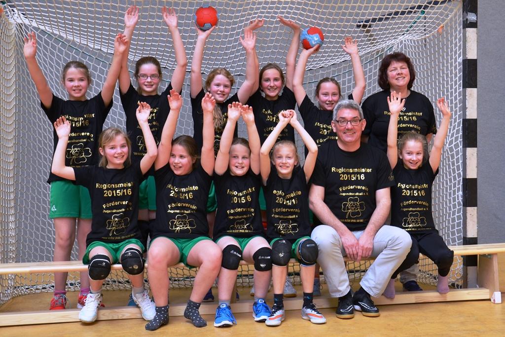Handball Regionsmeister 2016-1024