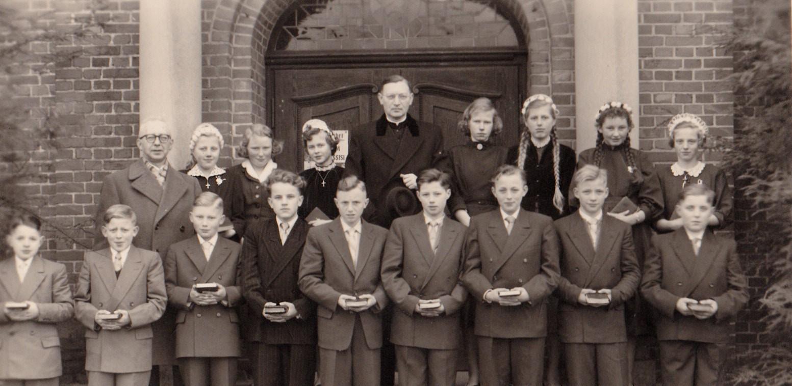 Schulentlassung 1957